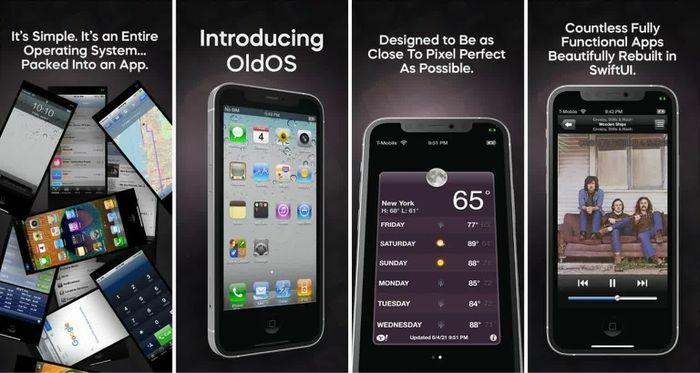 Nhà phát triển 18 tuổi hồi sinh iOS 4 dưới dạng ứng dụng độc lập, có thể chạy trên mọi chiếc iPhone đời mới - ảnh 1