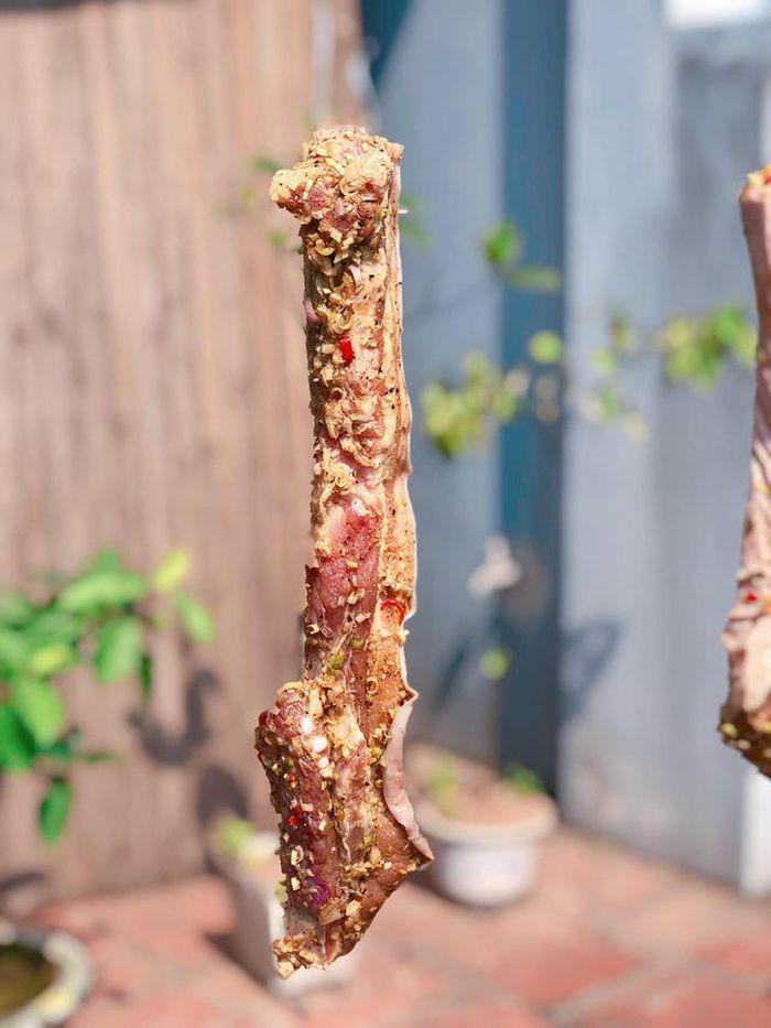 Tranh thủ nắng to, làm thịt ba chỉ một nắng ăn dần - ảnh 6