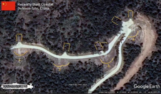 Hình ảnh vệ tinh cho thấy Trung Quốc vẫn đang đầu tư hệ thống phòng thủ bờ biển - ảnh 1