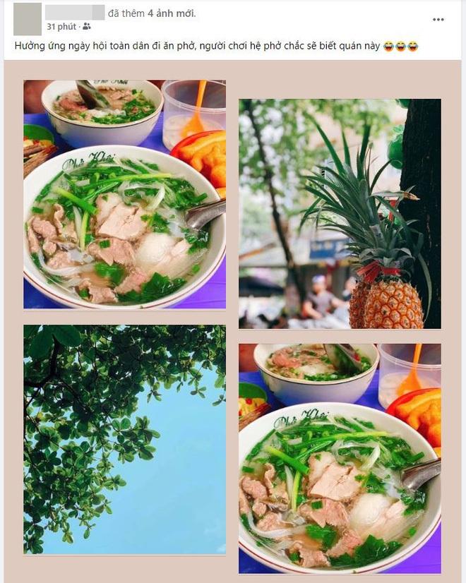 Hôm nay ngày hội toàn dân Hà Nội đi ăn phở, quá đông khách có quán đã thông báo hết từ hơn 8 giờ - ảnh 5