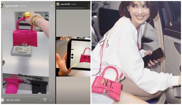 Ngọc Trinh - Lily Chen đụng từ siêu xe đến túi Hermes, còn bị nghi 'chung bồ' - ảnh 6