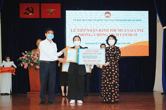 Traveloka hưởng ứng ủng hộ quỹ vắc xin phòng chống covid-19 - ảnh 2