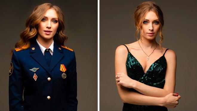 Vẻ đẹp các nữ quản giáo Nga tham gia cuộc thi hoa khôi ngành trại giam - ảnh 1