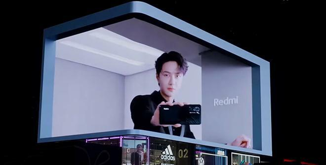 Quảng cáo Billboard siêu đỉnh của smartphone chơi game Xiaomi Redmi K40 - ảnh 1