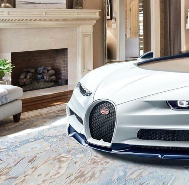 Bugatti Chiron phiên bản giường ngủ trông sẽ như thế này này - ảnh 3