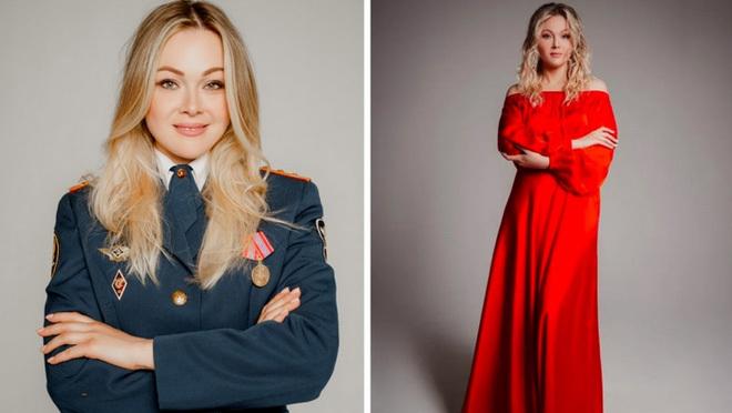 Vẻ đẹp các nữ quản giáo Nga tham gia cuộc thi hoa khôi ngành trại giam - ảnh 2