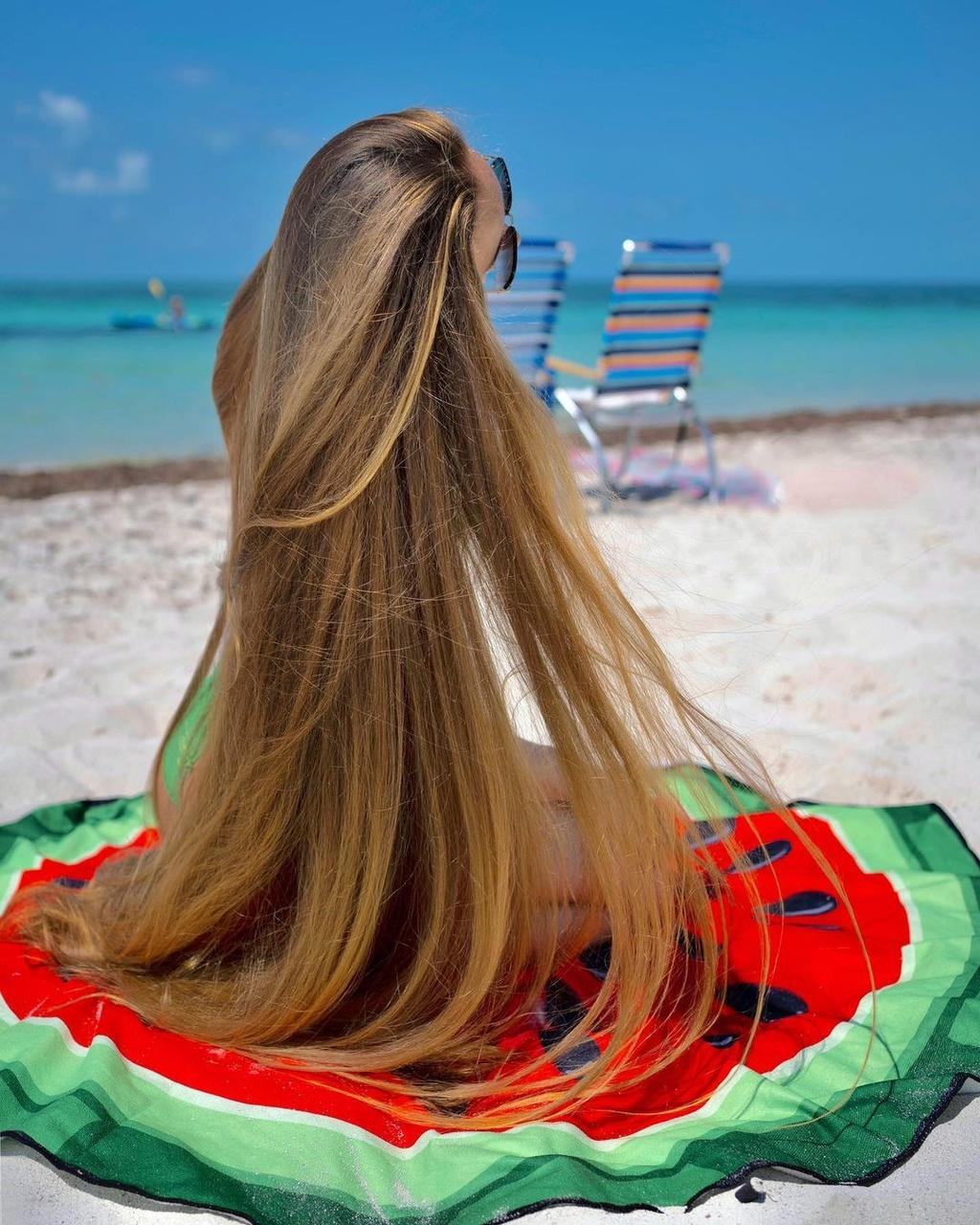 Được nhiều chàng trai tán tỉnh nhờ mái tóc dài 1,47 m - ảnh 3