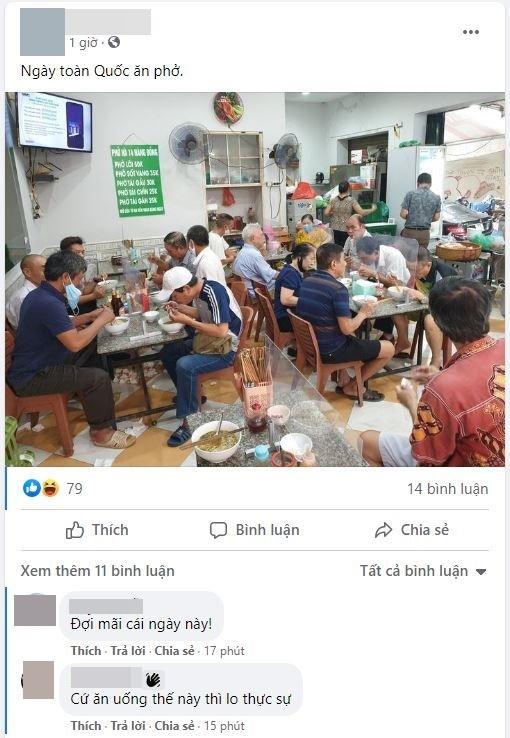 Hôm nay ngày hội toàn dân Hà Nội đi ăn phở, quá đông khách có quán đã thông báo hết từ hơn 8 giờ - ảnh 7