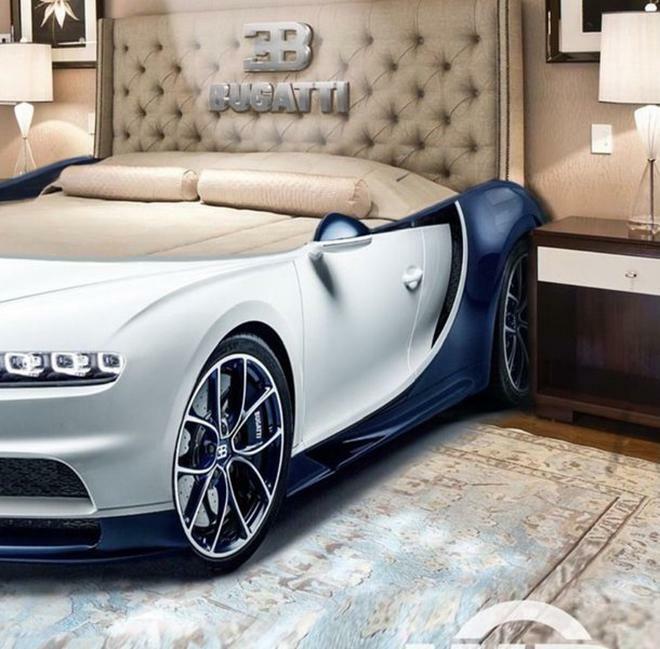 Bugatti Chiron phiên bản giường ngủ trông sẽ như thế này này - ảnh 4