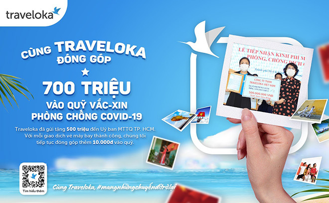 Traveloka hưởng ứng ủng hộ quỹ vắc xin phòng chống covid-19 - ảnh 3