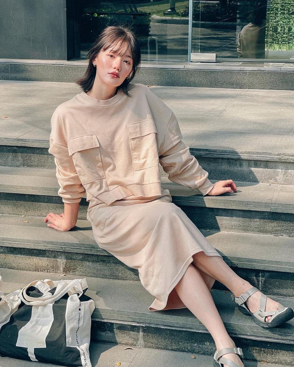 Hot girl Thái Lan có gu ăn mặc nổi tiếng trên mạng - ảnh 9