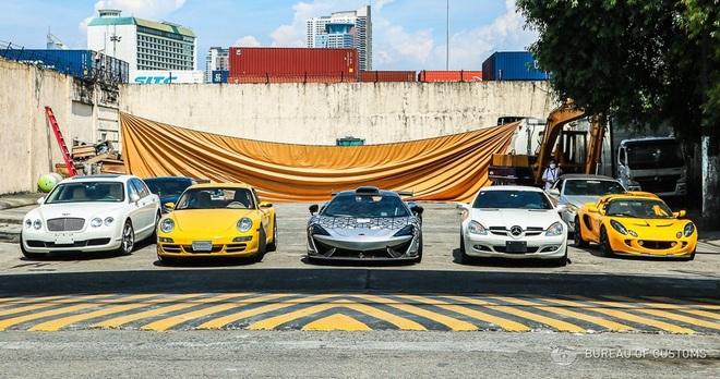Xem Hải quan Philippines nghiền nát hàng chục xe sang nhập khẩu - ảnh 1