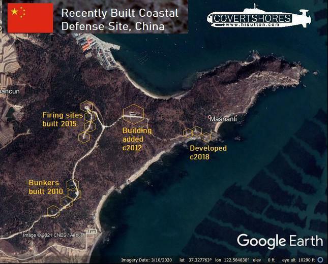 Hình ảnh vệ tinh cho thấy Trung Quốc vẫn đang đầu tư hệ thống phòng thủ bờ biển - ảnh 2