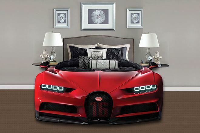 Bugatti Chiron phiên bản giường ngủ trông sẽ như thế này này - ảnh 5