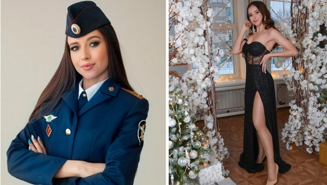 Vẻ đẹp các nữ quản giáo Nga tham gia cuộc thi hoa khôi ngành trại giam - ảnh 9