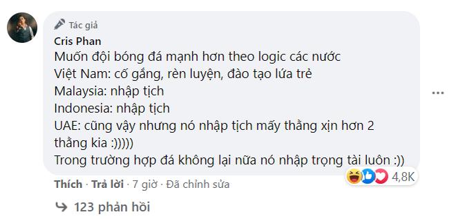 """Cris Phan """"cà khịa"""" Khởi My chiếm luôn spotlight bài đăng Ngô Kiến Huy, pha """"phản dame"""" của khổ chủ gây chú ý - ảnh 6"""