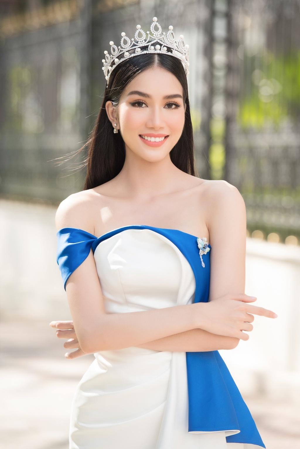 Nhan sắc quyến rũ của tân Hoa hậu Quốc tế Pháp - ảnh 11