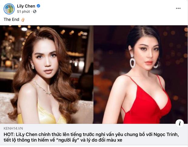 Fan khen Lily Chen