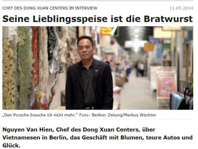 Người Việt giàu nhất nước Đức: Sở hữu trung tâm thương mại rộng 40.000 m2, thu về gần 100 tỷ đồng/năm, có 400 doanh nghiệp đang thuê - ảnh 1