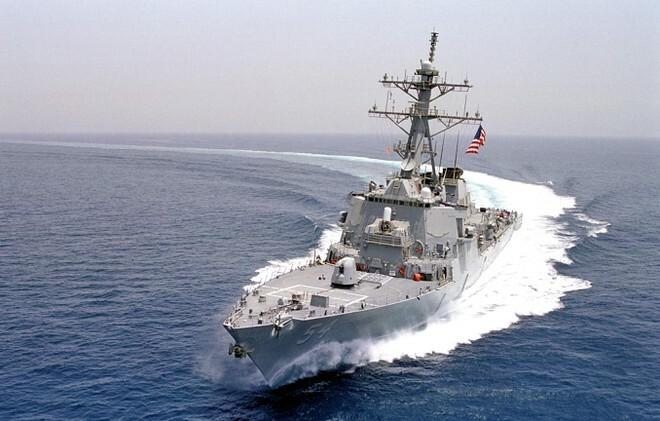 Tàu chiến Mỹ đi qua eo biển Đài Loan, Trung Quốc phản ứng gay gắt - ảnh 1