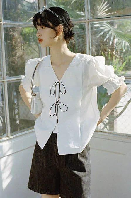 """""""Phong cách cao cấp kiểu Pháp"""" đang thịnh hành trong mùa hè này. Bất cứ ai cũng có thể mặc! - ảnh 14"""