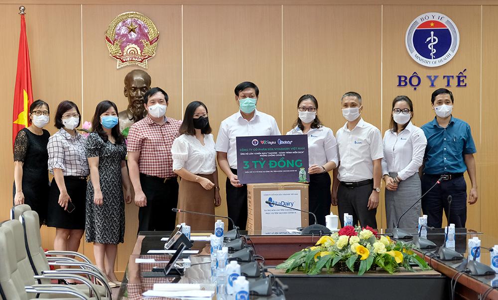 Bộ Y tế tiếp nhận hỗ trợ phòng chống dịch COVID-19 - ảnh 1