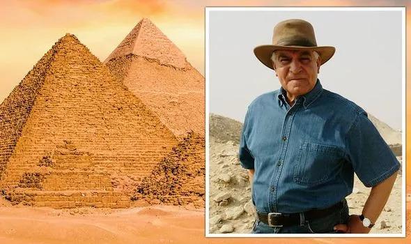 Tuyên bố gây sốc về kho báu của hoàng đế Ai CậpởĐại kim tự tháp 4.500 năm tuổi - ảnh 1