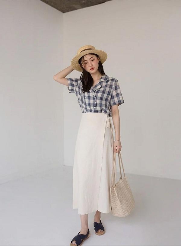 """""""Phong cách cao cấp kiểu Pháp"""" đang thịnh hành trong mùa hè này. Bất cứ ai cũng có thể mặc! - ảnh 29"""