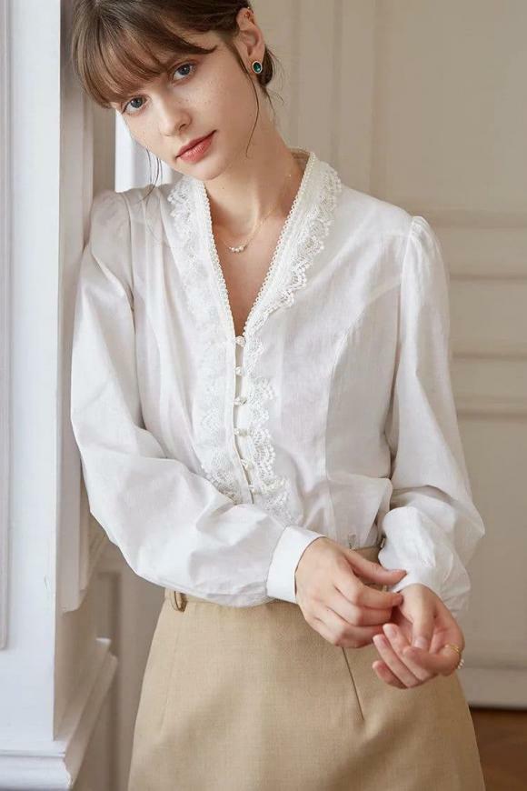 """""""Phong cách cao cấp kiểu Pháp"""" đang thịnh hành trong mùa hè này. Bất cứ ai cũng có thể mặc! - ảnh 19"""