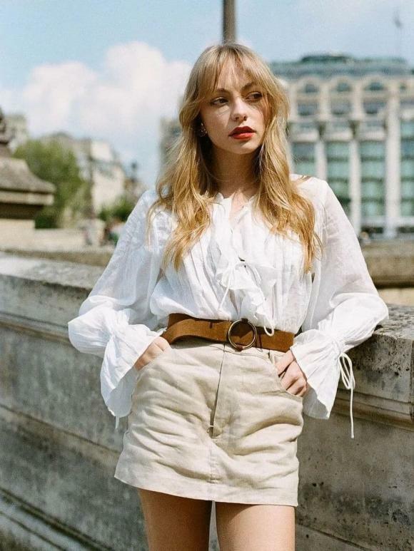 """""""Phong cách cao cấp kiểu Pháp"""" đang thịnh hành trong mùa hè này. Bất cứ ai cũng có thể mặc! - ảnh 18"""