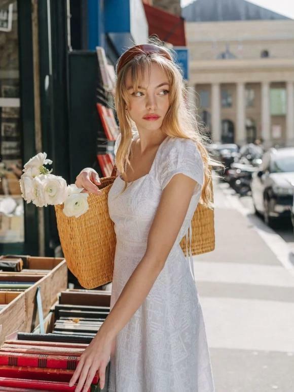 """""""Phong cách cao cấp kiểu Pháp"""" đang thịnh hành trong mùa hè này. Bất cứ ai cũng có thể mặc! - ảnh 7"""