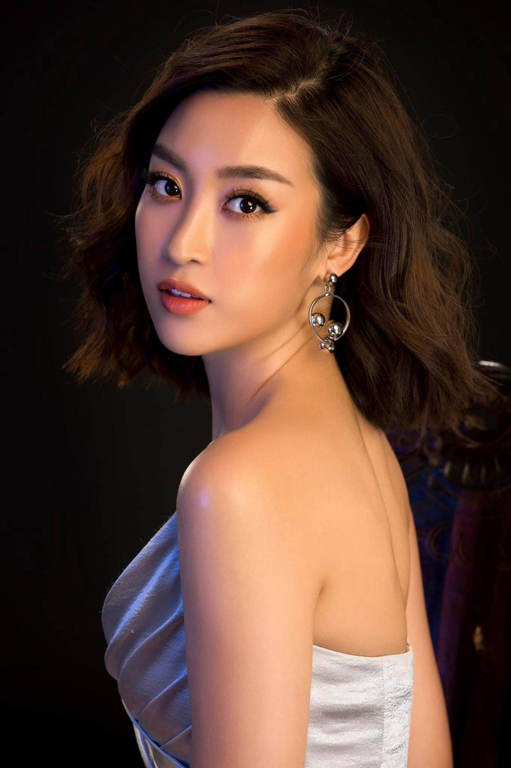 Vẻ nóng bỏng của Tiểu Vy, Đỗ Mỹ Linh... khi được đề cử thi Miss Grand International - ảnh 1
