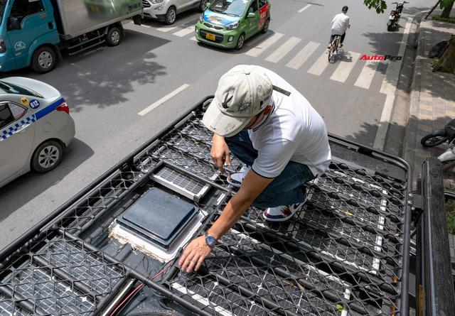 Thợ Việt độ Hyundai Solati thành nhà di động hết hơn 1,5 tỷ đồng: Có TV, bếp và công trình phụ, dùng điện mặt trời - ảnh 21