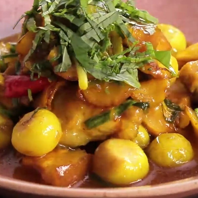 Cách làm thịt kho (om) cà pháo đậm vị ăn với cơm nóng ngày mưa cực mê - ảnh 12
