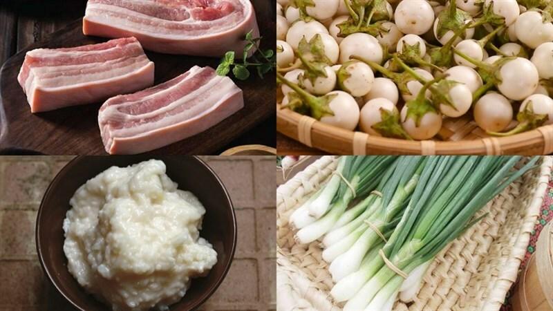 Cách làm thịt kho (om) cà pháo đậm vị ăn với cơm nóng ngày mưa cực mê - ảnh 1
