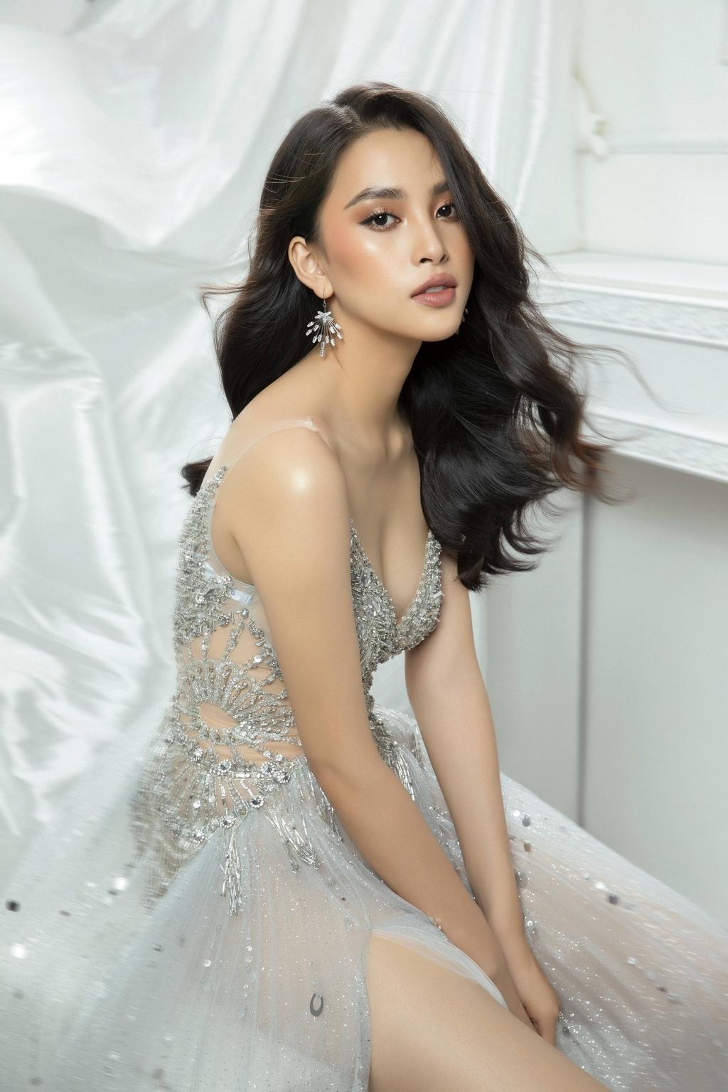 Vẻ nóng bỏng của Tiểu Vy, Đỗ Mỹ Linh... khi được đề cử thi Miss Grand International - ảnh 3