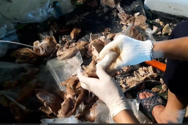 Phát hiện lực lượng chức năng, bỏ lại 7 kg ma túy bơi qua sông về Campuchia - ảnh 3