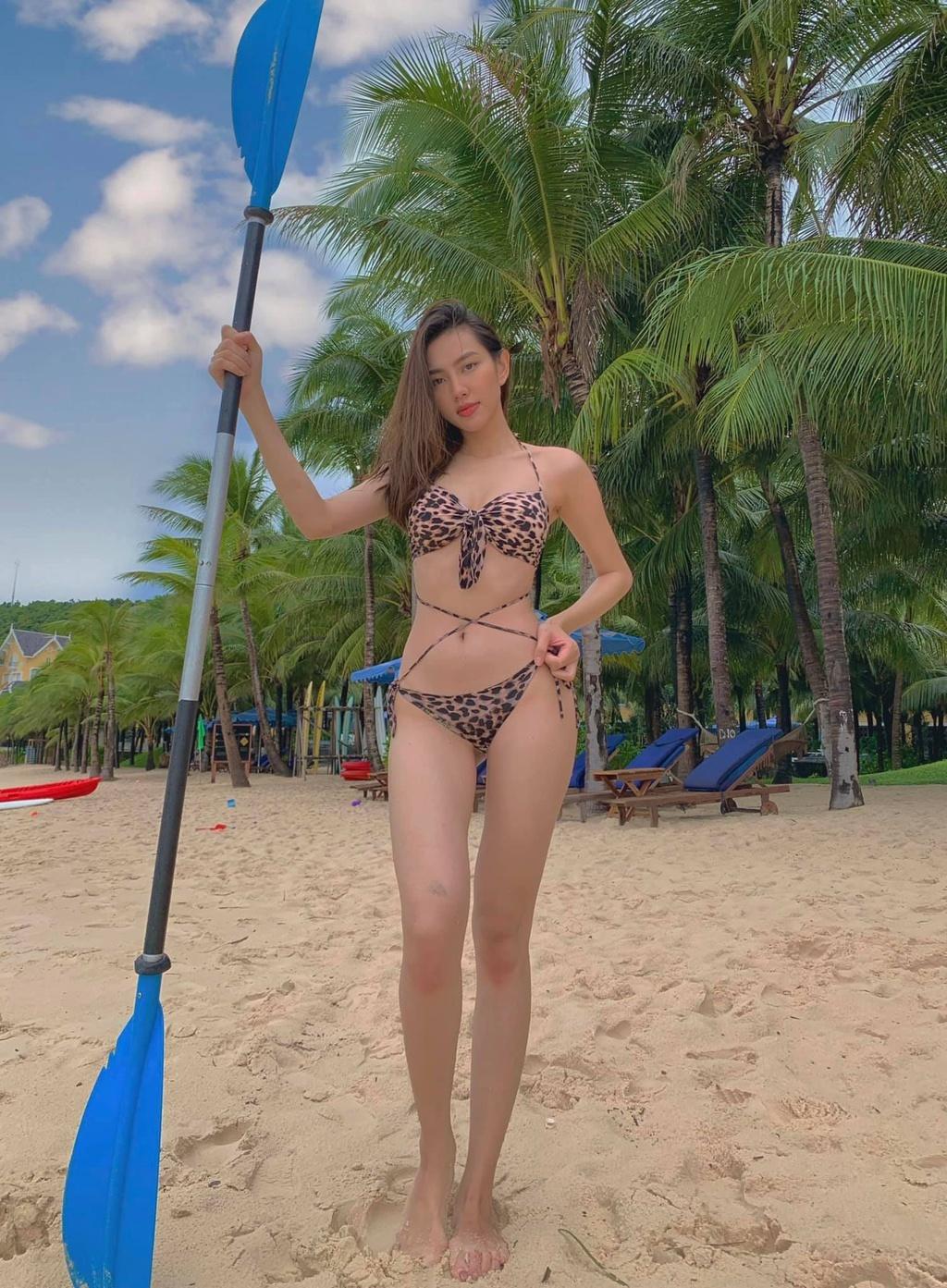 Vẻ nóng bỏng của Tiểu Vy, Đỗ Mỹ Linh... khi được đề cử thi Miss Grand International - ảnh 8