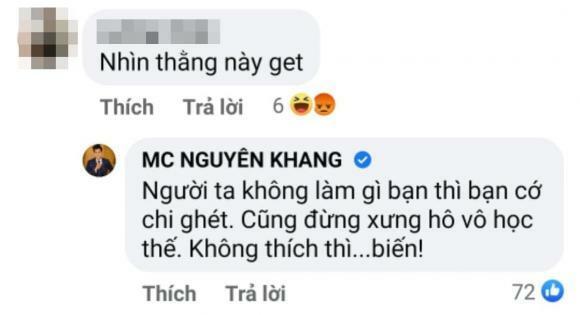 Nam MC VTV bị anti vào tận facebook