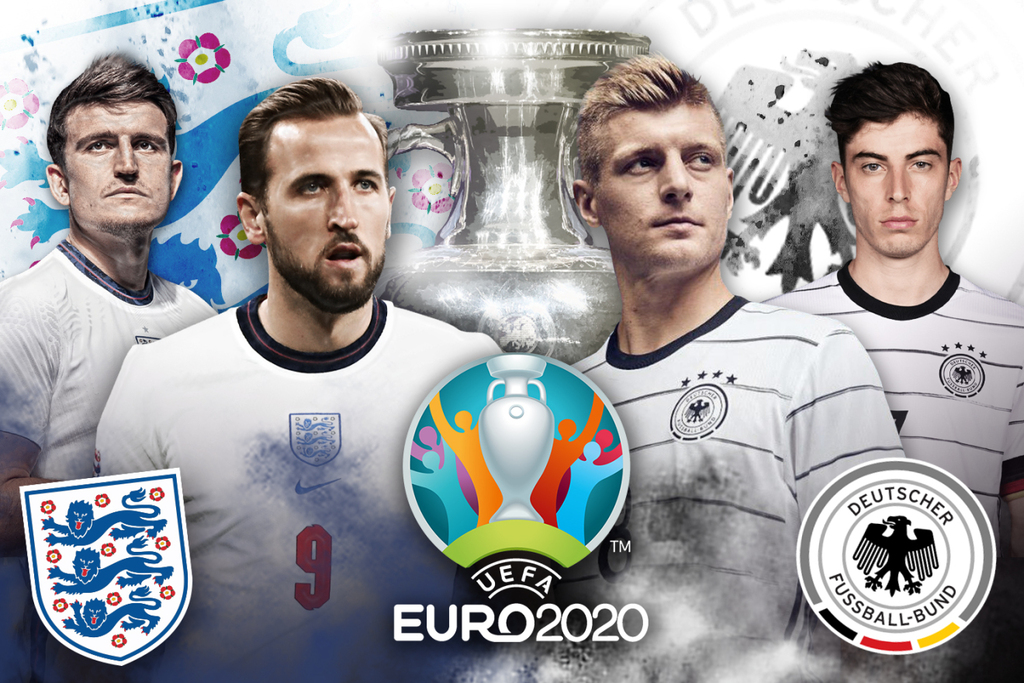 Vòng 1/8 EURO 2020: Anh đụng độ Đức, Bỉ đại chiến BĐN - ảnh 1