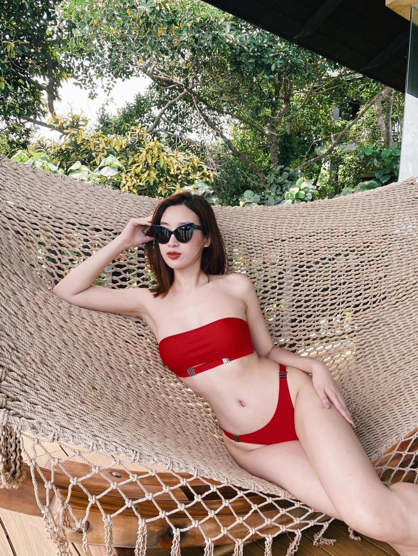 Vẻ nóng bỏng của Tiểu Vy, Đỗ Mỹ Linh... khi được đề cử thi Miss Grand International - ảnh 2