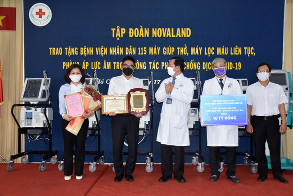Novaland hỗ trợ Phú Yên tăng cường kiểm soát dịch bệnh - ảnh 2