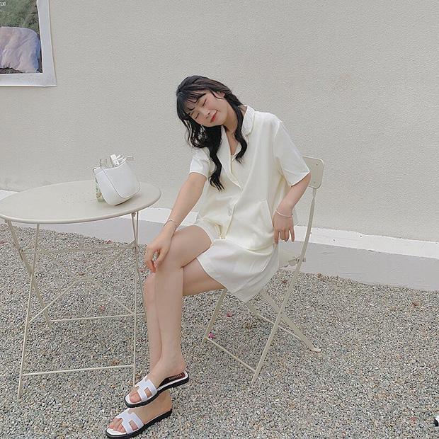 Bỏ từ 230k sắm mấy set đồ cộc tay này về thì khỏi lo mix&match vẫn mặc đẹp như gái Hàn - ảnh 13