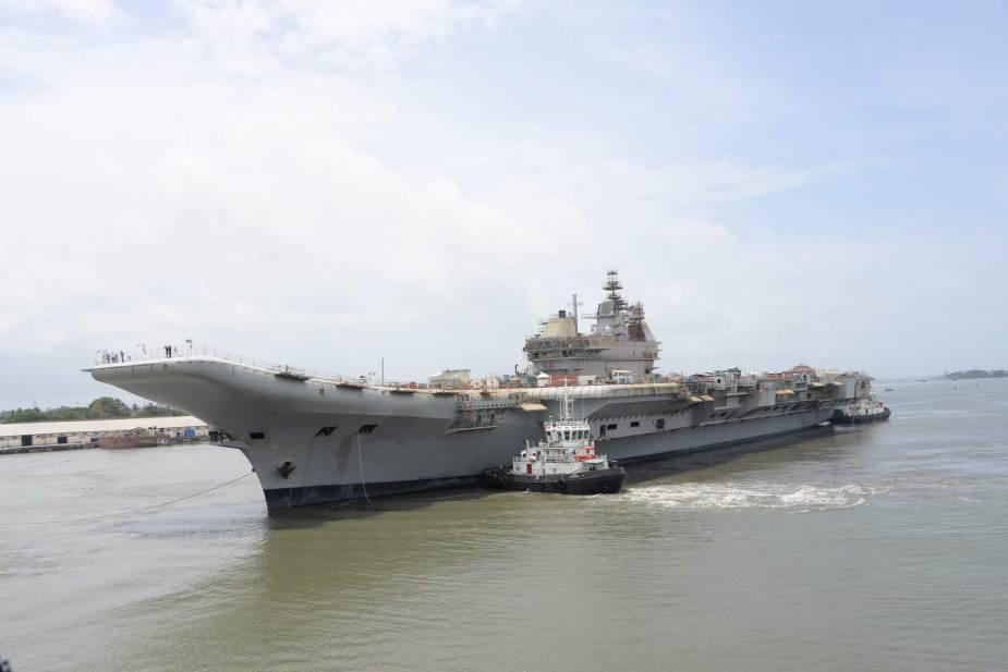 Ấn Độ thử nghiệm tàu sân bay thứ 2 để cạnh tranh với Trung Quốc - ảnh 2