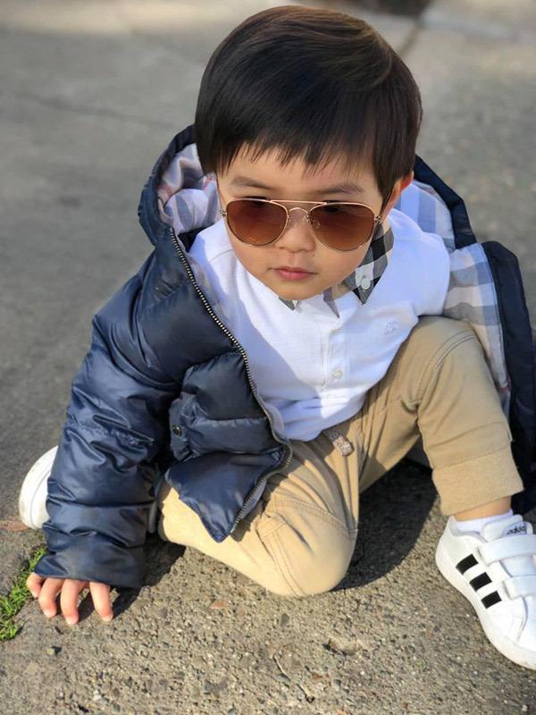 Con trai Đan Trường 4 tuổi sở hữu công ty riêng, mặc toàn hàng hiệu - ảnh 6