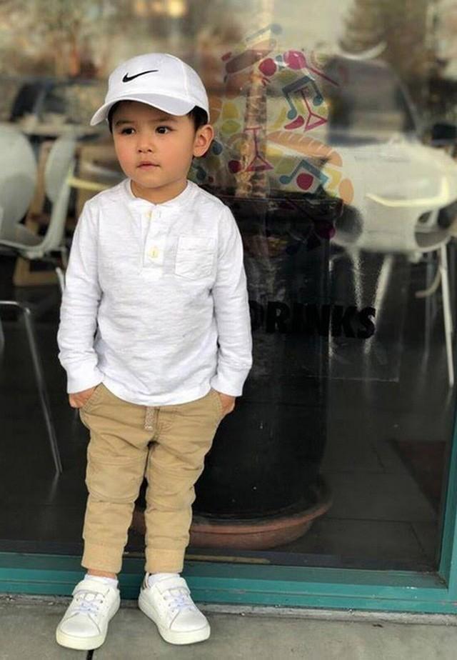 Con trai Đan Trường 4 tuổi sở hữu công ty riêng, mặc toàn hàng hiệu - ảnh 4