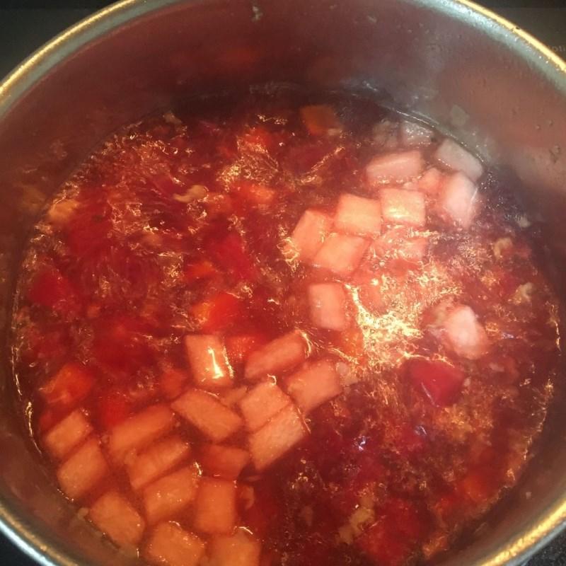 Cách nấu canh củ dền nấu tôm tươi ngon ngọt hấp dẫn đơn giản tại nhà - ảnh 20