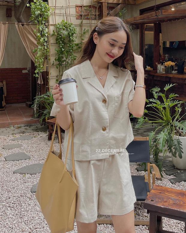 Bỏ từ 230k sắm mấy set đồ cộc tay này về thì khỏi lo mix&match vẫn mặc đẹp như gái Hàn - ảnh 11