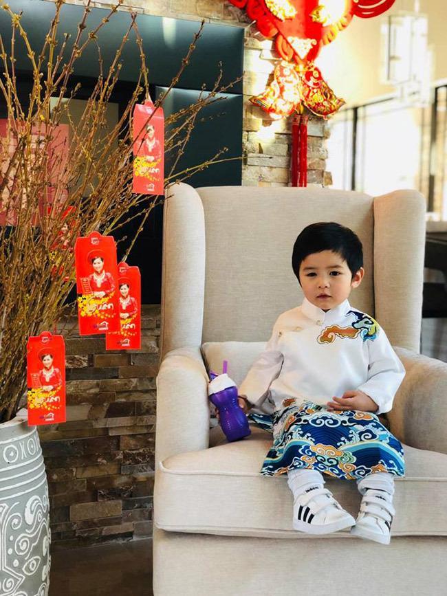 Con trai Đan Trường 4 tuổi sở hữu công ty riêng, mặc toàn hàng hiệu - ảnh 7