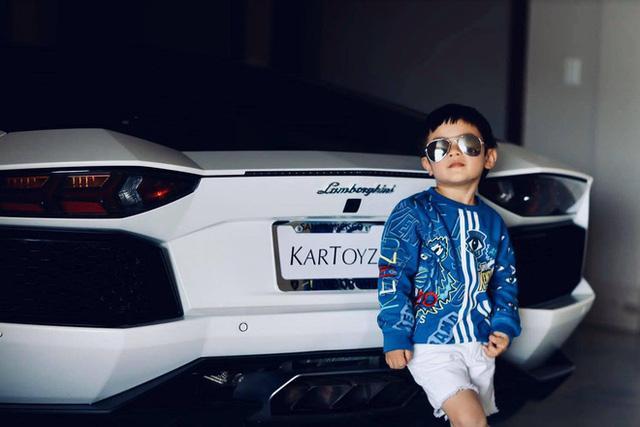 Con trai Đan Trường 4 tuổi sở hữu công ty riêng, mặc toàn hàng hiệu - ảnh 5